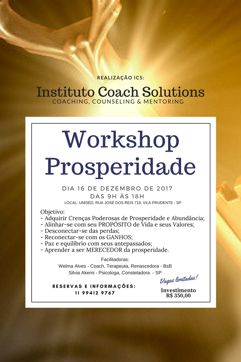 WORKSHOP DA PROPERIADE